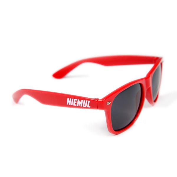 Okulary przeciwsłoneczne Niemul - czerwone