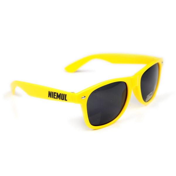 Okulary przeciwsłoneczne Niemul - żółte