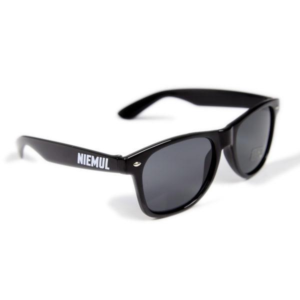 Okulary przeciwsłoneczne niemul czarne