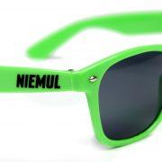 Okulary przeciwsłoneczne Niemul – zielone